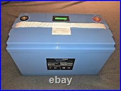 100ah lifepo4 12v battery 100amp BMS Dutchman Brand Lithium Ion LED Fuel Gauge