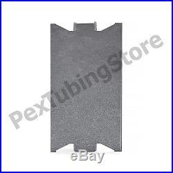 100pcs of Steel Stud Guard Plates, 1.5 x 3, 18-Gauge
