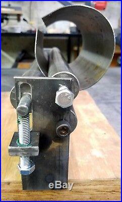 12 x 10 Gauge Sheet Metal Roller Slip Roll rolling metalworking brass steel