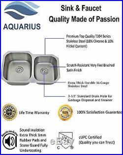 16 Gauge Durable Undermount Stainless Steel Kitchen Sink Grid Strainer Package