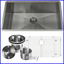 16 Gauge Stainless Steel Undermount Kitchen Sink Grid Strainer Package 28 Inch