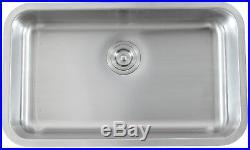 16 Gauge Undermount Stainless Steel Kitchen Sink Strainer Grid Colander 31 inch