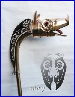 18 Gauge Brass Medieval Celtic Deskford carnyx