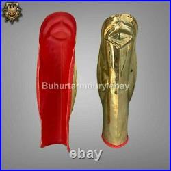 18 Gauge Brass Medieval Knight Set Of Roman Leg Greaves