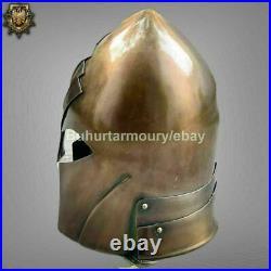 18 Gauge Steel Medieval Knight Fantasy Great Helmet