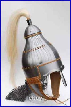 18 Gauge Steel Medieval Samurai Helmet