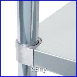 18 x 36 Stainless Steel Work Prep Shelf Table Commercial Restaurant 18 Gauge