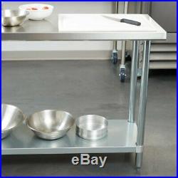 18 x 36 Stainless Steel Work Prep Shelf Table Commercial Restaurant 18 Gauge 5