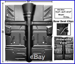 1964-65 Ford Falcon Complete Floor Pan, Heavy Gauge Steel New