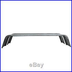 2 PCS Steel 14 Gauge Diamond Tread Plate Tandem Axle Trailer Fenders 10x72x13