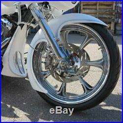 21 Wheel Slicer Front Wrap Fender 14-gauge Steel For 86-13 Harley FLH Touring