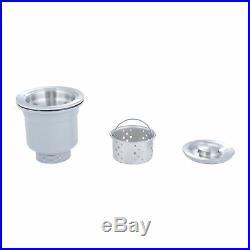 28 x 18 x 9 Gauge Stainless Steel Kitchen Sink Undermount Single Bowl with Grid