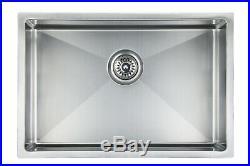 30x18x9 Undermount Stainless Steel kitchen sink Single Bowl Kitchen sink 17gauge