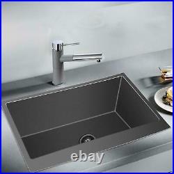 33 18 Gauge Kitchen Farmhouse Sink Apron Front Stainless Steel Single Bowl USA