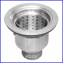 33 Stainless Steel Farmhouse Apron Kitchen Sink 60/40 Offset Bowls 16 Gauge