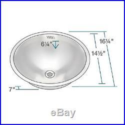 420 18 Gauge Stainless Steel Bathroom Sink