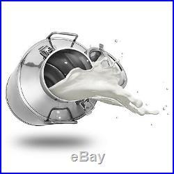 50L 13.25 Gallon Stainless Steel Milk Can Tank Barrel Heavy Gauge Wine Pail