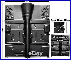 64-65 Falcon Sedan & Station Wagon Complete Floor Pan, Heavy Gauge Steel