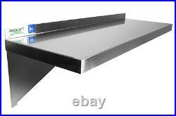 72 Stainless Steel Wall Shelf 16 Gauge