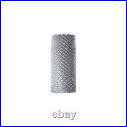 ALEKO Galvanized Steel 4 X 50 Feet Roll Chain Link Fence Fabric 12.5-AW Gauge
