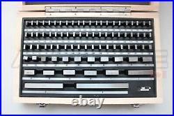 Accusize Industrial Rectangular Tools 81 Pcs Steel Gauge Block Set HRC 64 NEW