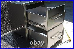 BBQ 304 STAINLESS STEEL 16 gauge DOUBLE DRAWER OUTDOOR KITCHEN BEST QUALITY