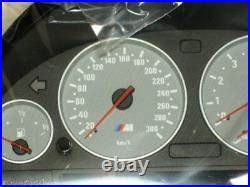 BMW Brand E39 M5 1999-2003 OEM Genuine Instrument Cluster Uncoded MPH or KM