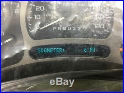BRAND NEW Denali Yukon XL Sierra Silverado Tahoe Cluster Speedometer Trans Temp