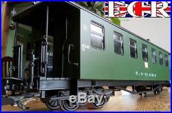 BRAND NEW G SCALE 45mm GAUGE RAILWAY PASSENGER GREEN CARRIAGE COACH GARDEN TRAIN