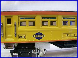 BRAND NEW Lionel Corp. MTH O Gauge # 2613 Series Chessie Pullman Passenger car