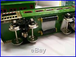 BRAND NEW Lionel Corporation MTH Built 4-Car Standard Gauge Dorfan Set Green