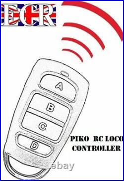 BRAND NEW PIKO G SCALE 45mm GAUGE RC LOCO FULL TRAIN SET RADIO REMOTE CONTROL