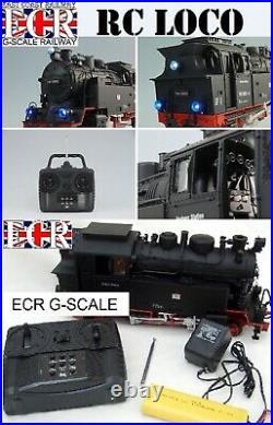 BRAND NEW RC LOCO AND G SCALE 45mm GAUGE RAIL PLASTIC RAILWAY TRACK LAYOUT TRAIN