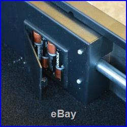 BUFFALO Under Bed Gun Safe 3 cu. Ft. Digital Electric Lock 14-Gauge Steel Black