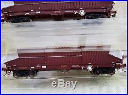 Bachmann 37-625 OO Gauge 102 Tonne THRALL BYA STEEL COIL CARRIER EWS Rake Of 5