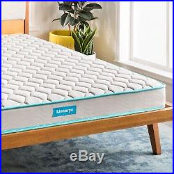 Best New Twin 6 inches Innerspring Mattress Heavy Gauge Tempered Steel Coils