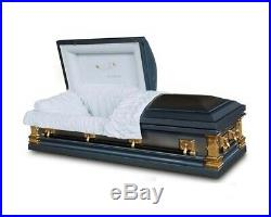 Brand New 18 Gauge Steel Coffin Casket
