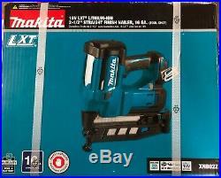 Brand New Makita 18V LXT 16 Gauge Straight Finish Nailer XNB02Z Free Shipping