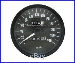 Brand New Replica Kawasaki Z1 Kz900 Kz1000 Speedometer Speedo Gauge Km/h Tw346