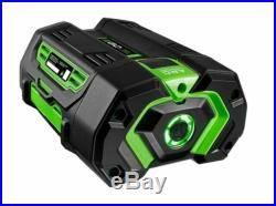 Brand new EGO 56 V 5 Ah 2800 T Lithium-ion battery with Fuel gauge
