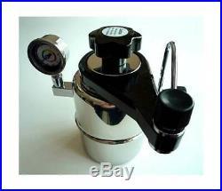 CX-25P Bellman Stovetop Espresso Maker w Pressure Gauge ID 49053
