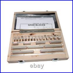 Carbon Steel Metric Gage Block Set 32 Pcs Grade 0 Slip Jo blocks 1.005-50mm