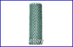 Chain Link Fence Fabric 5 x 50 ft. 11.5-Gauge Galvanized Steel Rust Resistant