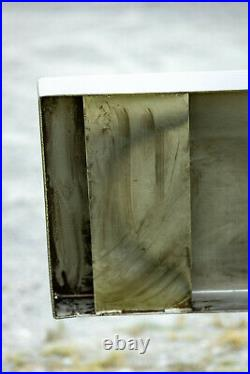 Chrome Peterbilt 379 Bumper 20 Boxed Ends 7 Gauge Steel (378,357) Aftermarket