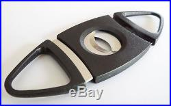 Cigar Guillotine Cutter Quality Pocket 56 Ring Gauge STAINLESS STEEL BRAND NEW
