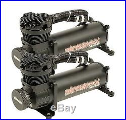 Complete Air Ride Suspension Kit For 88-98 Chevy C15 withManifold Bags & 480 Black