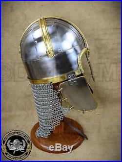 Coppergate Anglo Saxon Deluxe Helm 18 Gauge