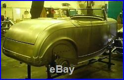 Custom 1932 32 Ford roll pan bumper hot rod rat kustom 18 gauge steel metal