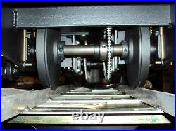 Custom locomotive Chassis 7 1/2 to 7 1/4 Gauge with single or double motor