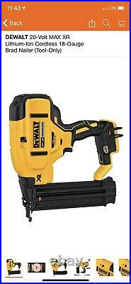DEWALT DCN680B 20V MAX XR 18 Gauge Brad Nailer Tool Only BRAND NEW In BOX